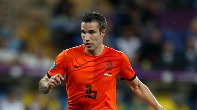 Vincent Kompany says any club would be improved with Robin van Persie, pictured, in their team