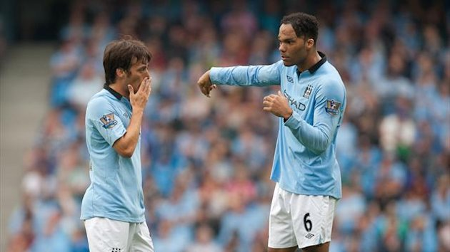 2012-2013 Premier League Manchester City Silva Lescott