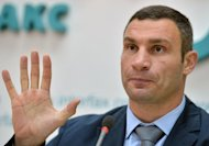 WBC heavyweight champion Vitali Klitschko leads the opposition UDAR party in Ukraine. Britain's David Haye has accused Klitschko of hiding behind the political process to avoid meeting him in the ring