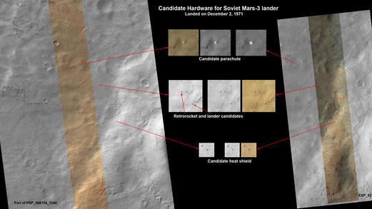 New Mars Photos May Reveal 1970s Soviet Lander