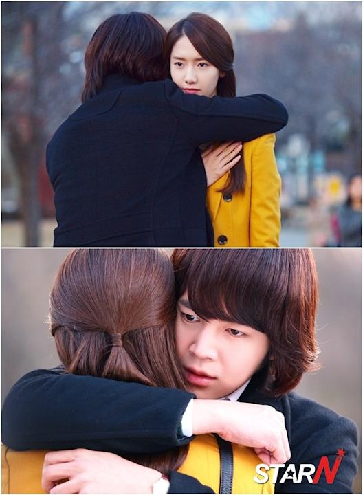'Love Rain' Photos of Jang Geunsok and Yoonah hugging each other revealed