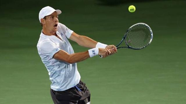 Tennis - Berdych through to second successive Dubai final