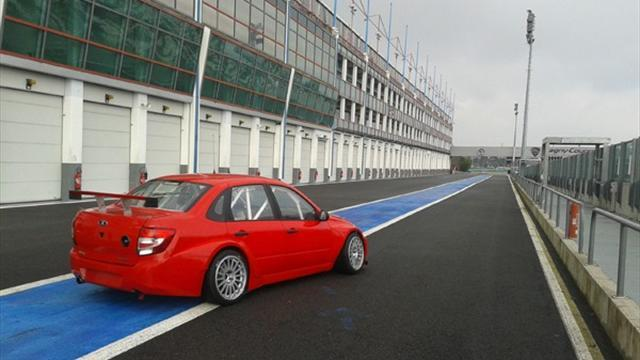WTCC - More tests for LADA Sport at Magny-Cours