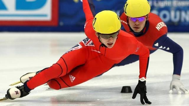Speed Skating - Whelbourne believes you need more than luck in short track