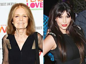 """Gloria Steinem Says Criticism of Kim Kardashian's Pregnant Body Is Wrong """"Under Any Circumstance"""""""