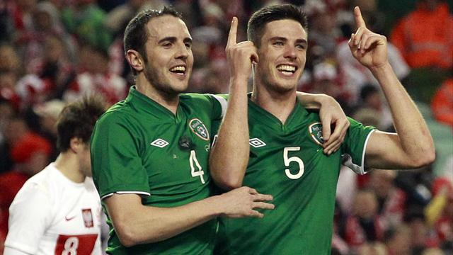 World Football - Ireland claim win over Poland