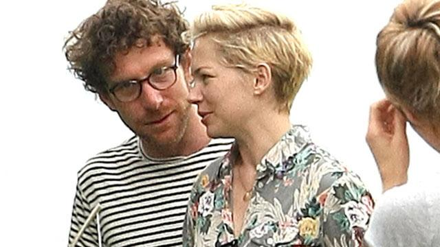 Michelle Williams, Daughter Spend Time With Artist Dustin Yellin