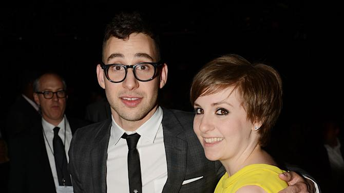 The 55th Annual GRAMMY Awards - Show: Jack Antonoff of fun. and Lena Dunham
