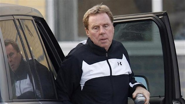 2012 FOOTBALL Harry Redknapp