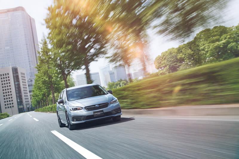 Subaru新年式Impreza增加e-Boxer與STI Sport車型