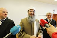 A Norway appeals court overturned a terrorism conviction against Mullah Krekar, pictured in March, the Iraqi founder of a radical Iraqi Kurdish Islamist group, but jailed him on other charges