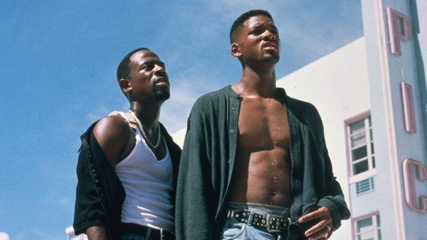 Will and Martin played Miami cops in Bad Boys