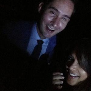 Kim Kardashian Pops Up With Instagram Co-Founder Kevin Systrom: Picture