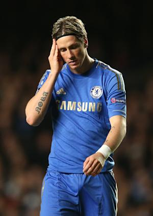 Fernando Torres has struggled to score regularly for Chelsea