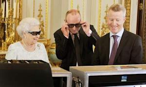 Queen To Hail Olympics In 3D Xmas Message