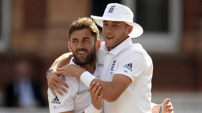 Cricket - Broad hat-trick and fiery Plunkett lift England
