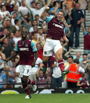 Kevin Nolan scored the only goal of the game as West Ham beat Aston Villa