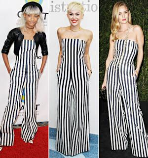 Who Wore It Best: Willow Smith, Miley Cyrus or Rosie Huntington-Whiteley?