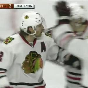 Blackhawks at Flyers / Game Highlights