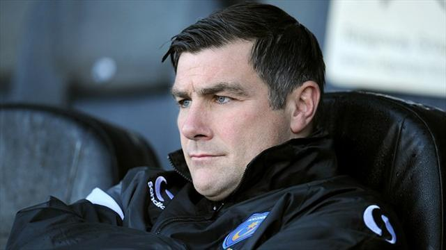 League Two - Barker sacked as Portsmouth manager