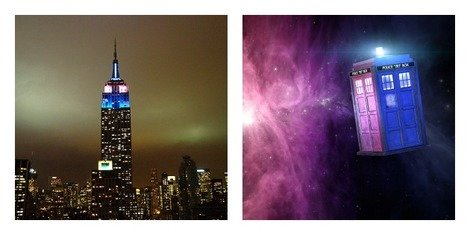 The Empire State Building and the TARDIS