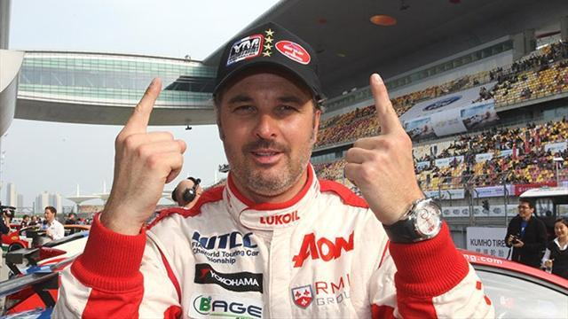 WTCC - Muller grabs pole as Chevrolet dominate Shanghai qualifying