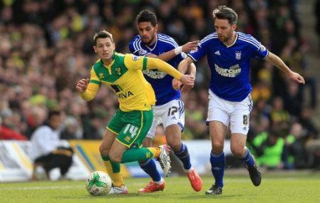 Soccer - SkyBet Championship - Norwich City v Ipswich Town - Carrow Road