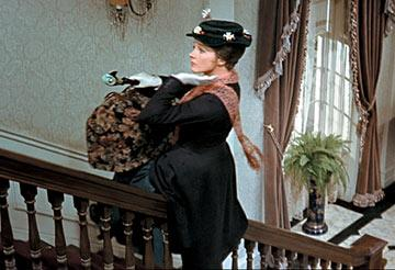 Julie Andrews in Walt Disney's Mary Poppins