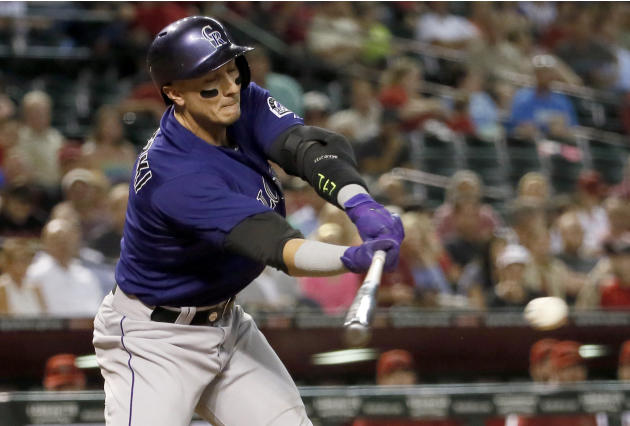 Morneau's 3-run homer leads Colorado to 5-4 win over Arizona