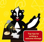 7 Tips for Writing Great Welcome Emails image welcome message 01 300x286