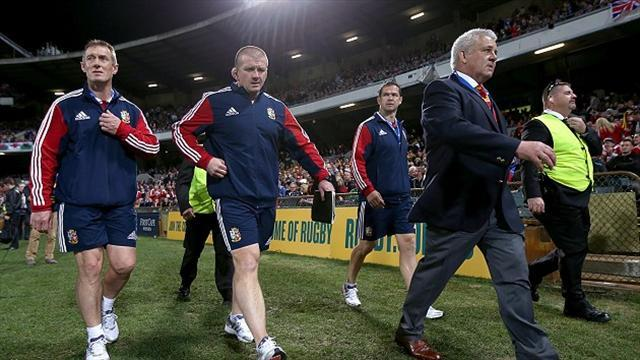 Lions Tour  - Gatland concerned at weakness of opponents