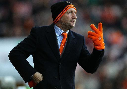 Ian Holloway joined Blackpool as manager in 2009