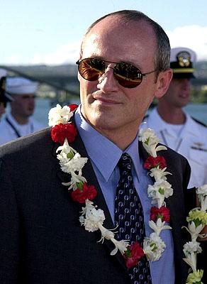 Premiere: Colm Feore aboard the USS John C. Stennis at the Honolulu, Hawaii premiere of Touchstone Pictures' Pearl Harbor - 5/21/2001