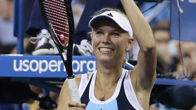 US Open - Wozniacki skips into third round with comfortable win