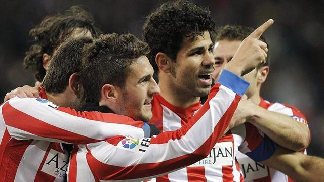 Spanish Liga - Atletico ease into Copa semis