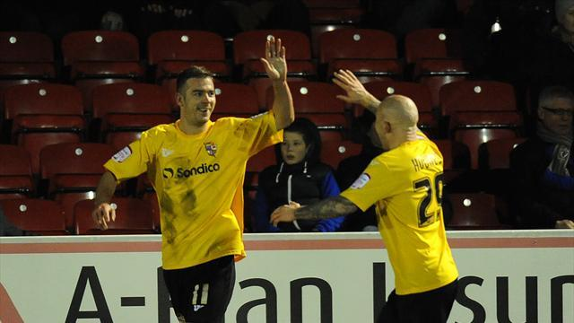 Football - Pope scores again as Vale draw