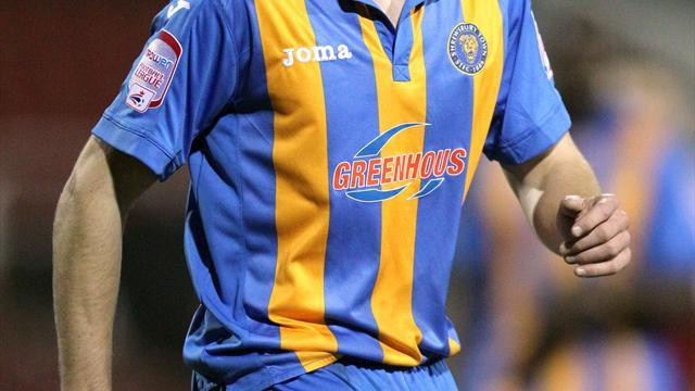 Football - Shrews land McAllister
