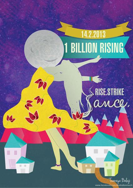 Artists for One Billion Rising, India