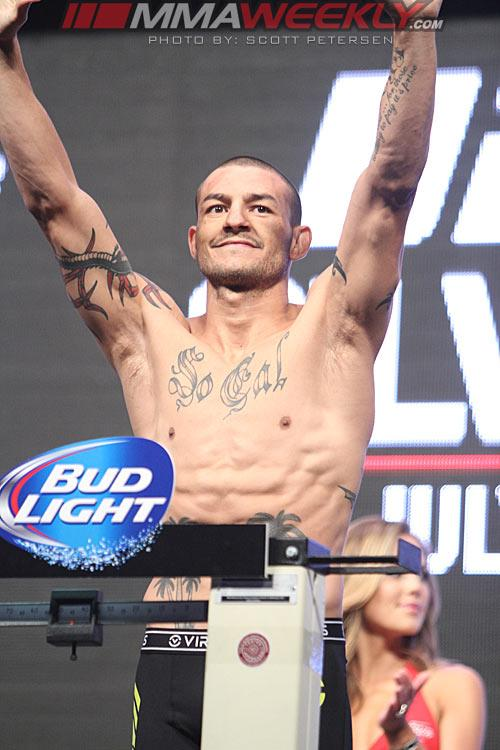 UFC 162 Results: Cub Swanson Impressive with Third-Round TKO of Dennis Siver