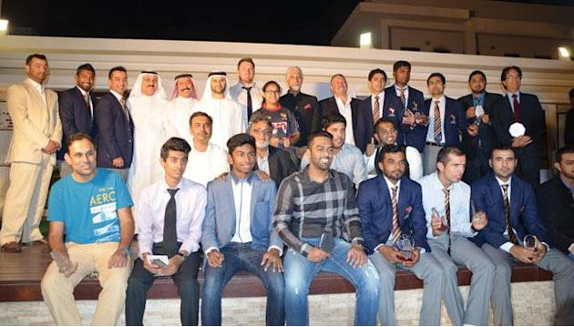 Shaiman Anwar's Cricket World Cup exploits recognised at UAE awards