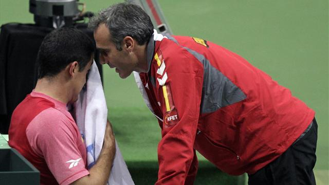 Davis Cup - Corretja defends Almagro selection after final defeat