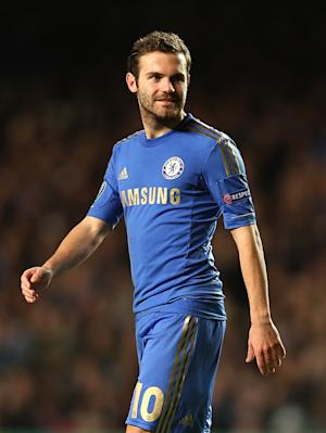 Juan Mata, pictured, has welcomed Rafael Benitez to Chelsea