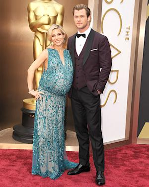 "Elsa Pataky's Baby Bump Mocked by Fashion Police: ""It Looks Like a Beer Belly"""