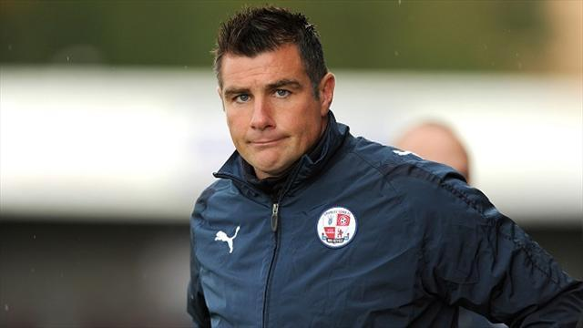League One - Crawley sack manager Barker
