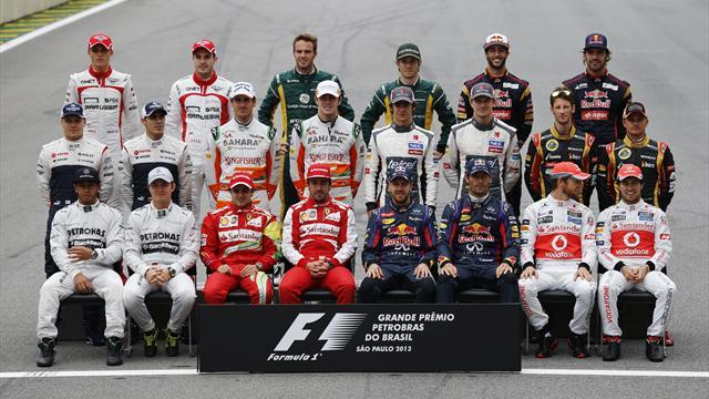 Formula 1 - Drivers clueless over 2014 formbook