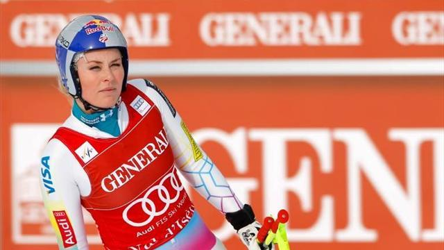 Alpine Skiing - Tired and emotional Vonn skies out of Courchevel GS