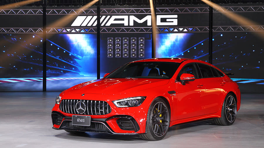 AMG極速再臨!GT驚豔4座 The new Mercedes-AMG GT 4-Door Coupé