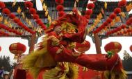 China Ushers In Year Of The Snake