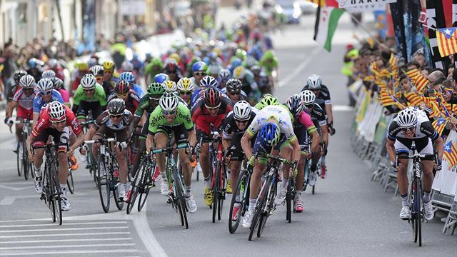 Cycling - Mezgec claims early lead in Volta a Catalunya