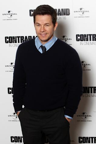 Mark Wahlberg is seen looking dapper at photocall for 'Contraband' in London on February 23, 2012 -- Getty Images